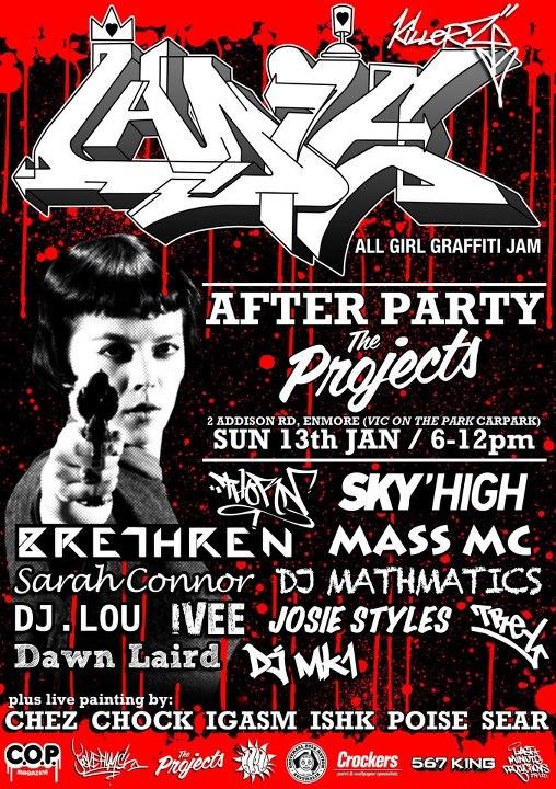 1st gig for 2013
