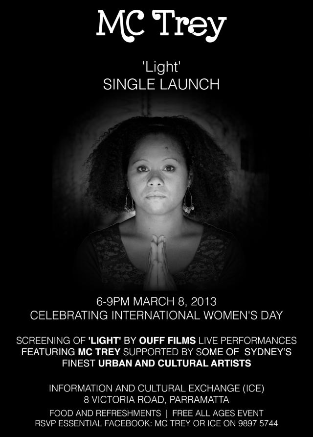 Launching new single 'Light' : Celebrating International Women's Day